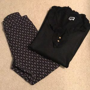 OUTFIT Mudpie tunic and leggings